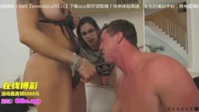 人妖-GenderX - Wife Wants Husband To Fuck Her Trans Friend